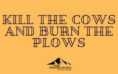 Kill The Cows & Burn The Plows